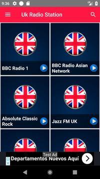 Radio Stations Free Apps Uk Radio Recording screenshot 1