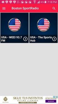 Boston sports radio boston sports app boston radio screenshot 1