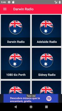 Darwin Online Radio Recording poster