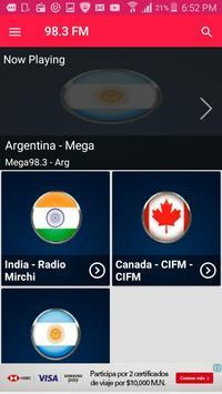 Radio 98.3 Radio Station Radio 98.3 FM Radio App screenshot 1
