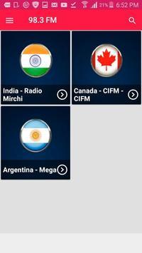 Radio 98.3 Radio Station Radio 98.3 FM Radio App screenshot 2