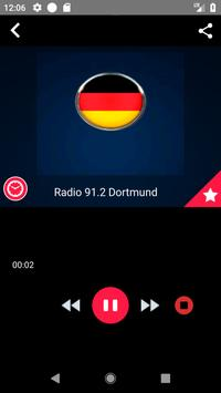 Radio 91.2 Dortmund  Streaming Radio Record screenshot 3