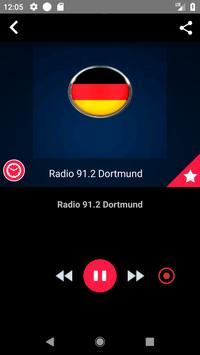 Radio 91.2 Dortmund  Streaming Radio Record screenshot 2