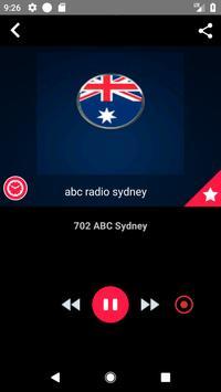 Sydney Radio Stations Online Radio Recording screenshot 4