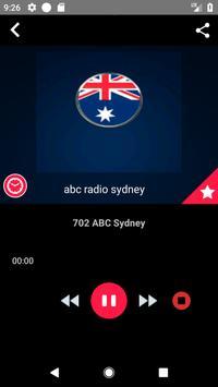 Sydney Radio Stations Online Radio Recording screenshot 2