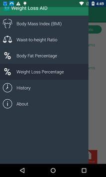 Weight Loss Aid screenshot 1