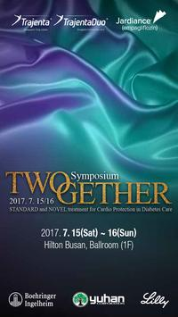 TWOgether Symposium (부산) poster