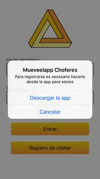 MuevelApp Choferes screenshot 1