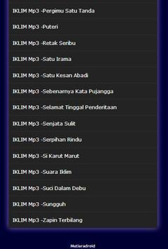 Lagu IKLIM melayu musik Lengkap Mp3 screenshot 3