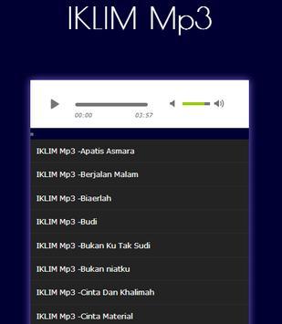 Lagu IKLIM melayu musik Lengkap Mp3 screenshot 1