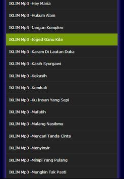 Lagu IKLIM melayu musik Lengkap Mp3 screenshot 2