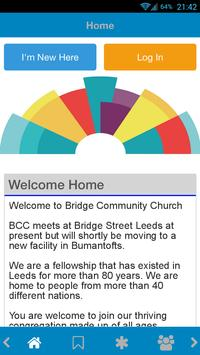 Bridge Community Church Leeds poster