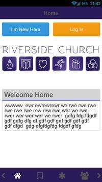 Riverside Church Leeds poster