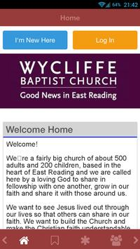 Wycliffe Baptist Church poster