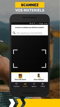 Kiloutou Pro - Location matériel Bâtiment et BTP apk screenshot