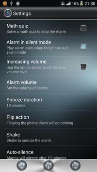Desktop Clock apk screenshot