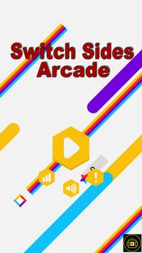 Switch Sides Arcade poster