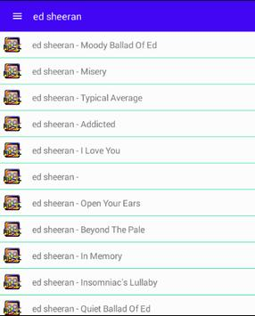 All Ed Sheeran Songs poster