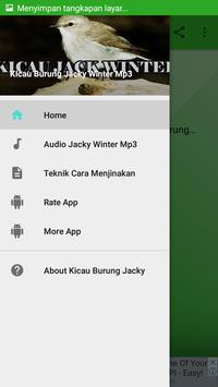 Kicau Burung Jacky Winter Mp3 screenshot 1