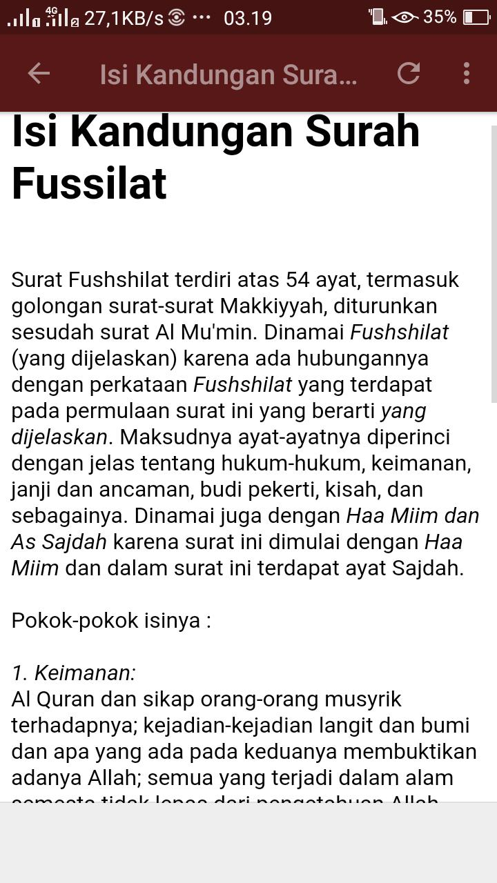 Surah Fussilat Mp3 Offline for Android - APK Download