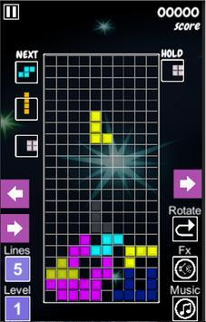 Tetris2D screenshot 1