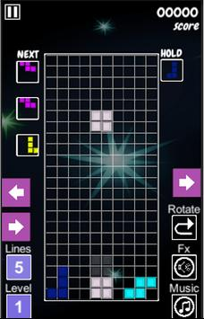 Tetris2D screenshot 2
