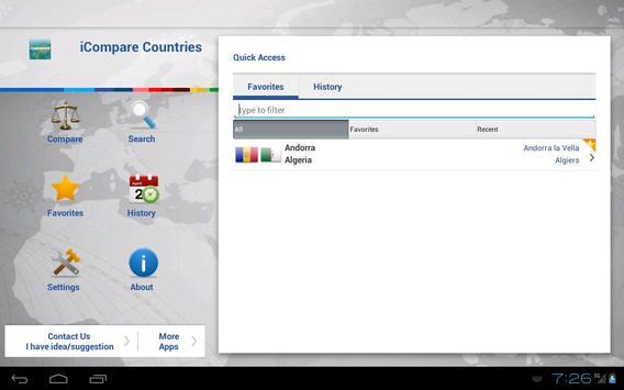iCompare Countries screenshot 3