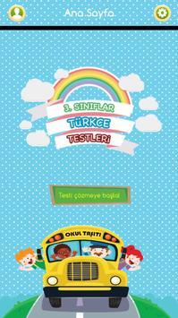 3. Sınıflar Türkçe Testleri poster