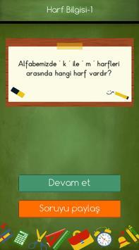 1. Sınıflar Türkçe Testleri screenshot 3