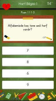 1. Sınıflar Türkçe Testleri screenshot 4