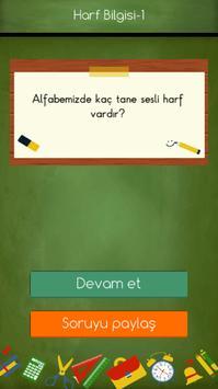 1. Sınıflar Türkçe Testleri screenshot 5