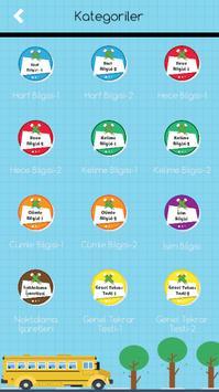 1. Sınıflar Türkçe Testleri screenshot 8