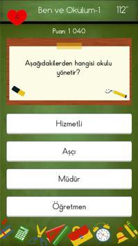 1. Sınıflar Hayat Bilgisi Testleri apk screenshot
