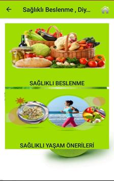 Sağlıklı Beslenme , Diyet ve Yaşam Rehberi screenshot 8