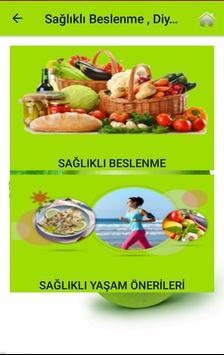 Sağlıklı Beslenme , Diyet ve Yaşam Rehberi screenshot 1
