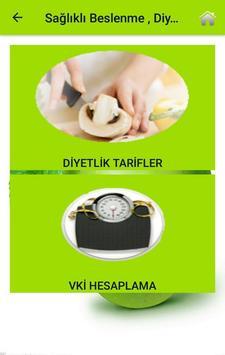 Sağlıklı Beslenme , Diyet ve Yaşam Rehberi screenshot 3