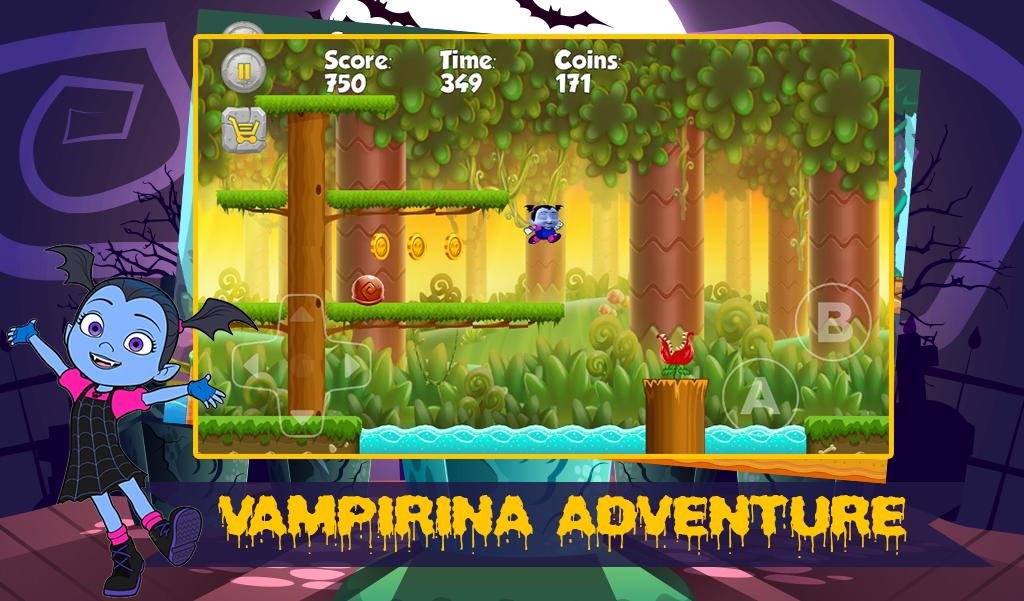 Halloween Adventure.Vampirina Princess Halloween Adventure For Android Apk Download