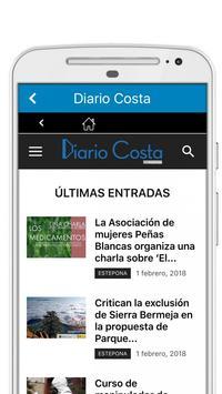 Diario Costa screenshot 2