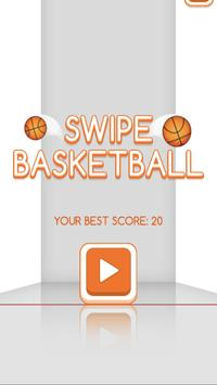 Swipe Basketball poster