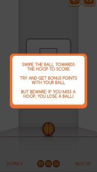 Swipe Basketball screenshot 1