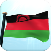 Malawi Flag 3D Free Wallpaper icon