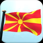 Macedonia Flag 3D Free icon