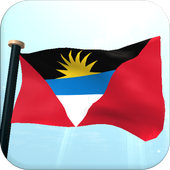 Antigua and Barbuda Flag Free icon