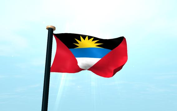 Antigua and Barbuda Flag Free apk screenshot