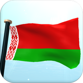 Belarus Flag 3D Free Wallpaper icon