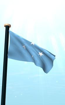 Micronesia Flag 3D Free apk screenshot