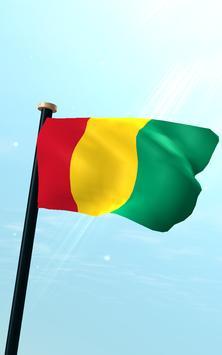 Guinea Flag 3D Free Wallpaper screenshot 10