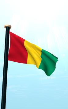 Guinea Flag 3D Free Wallpaper screenshot 11