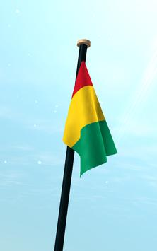 Guinea Flag 3D Free Wallpaper screenshot 12