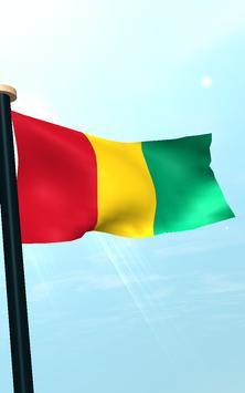 Guinea Flag 3D Free Wallpaper screenshot 13